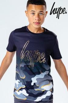 Hype. Goldline Camo T-Shirt