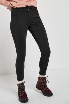 Black Fleece Leggings