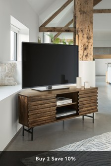 Elmir Corner TV Stand