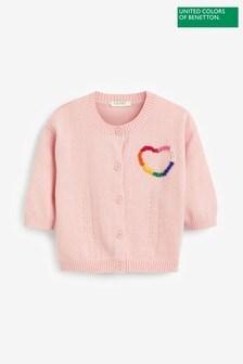 Benetton Pink Cardigan