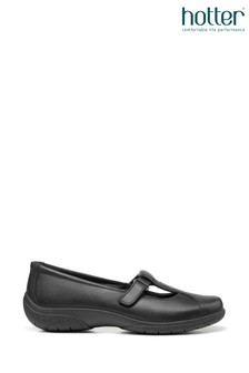 Hotter Nirvana II Wide Fit Slip-On Mary Jane Shoes