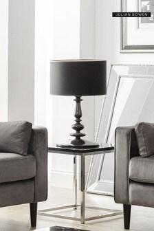 Scala Black Lamp Table by Julian Bowen