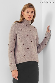 Mix/Fabienne Chapot Brown Olivia Jumper