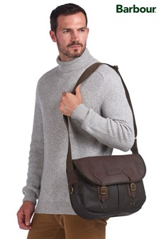 Barbour® Wax Leather Tarras Bag
