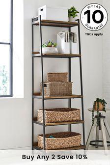 Oak Effect Bronx Modular Tall Shelf
