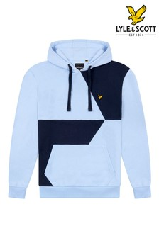 Lyle & Scott Contrast Cut And Sew Hoodie
