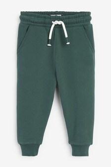 Dark Green Joggers Soft Touch Jersey (3mths-7yrs)