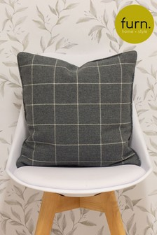 Furn Grey Ellis Cushion