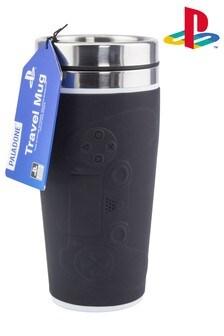 Black PlayStation™ Controller Travel Mug