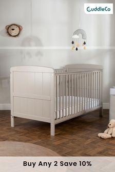 CuddleCo Juliet Cot Bed Grey