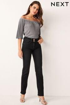 Black Enhancer Slim Jeans