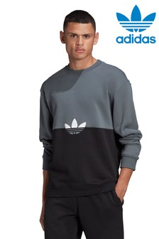 adidas Originals Black Slice Sweat Top