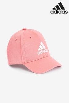 adidas Pink Little Kids Cap