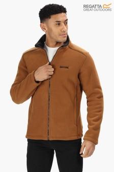 Regatta Brown Garrian Full Zip Fleece Jacket