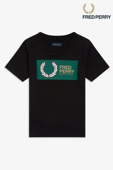 Fred Perry Boys Graphic T-Shirt