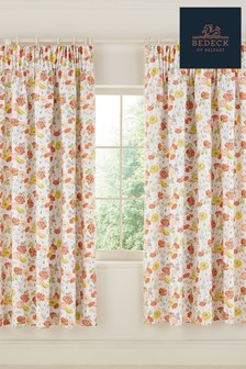 Bedeck of Belfast Poppy Garden Curtains
