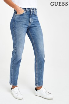 Guess Blue Denim Straight Fit Jeans