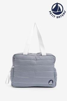 Petit Bateau Navy Stripe Changing Bag