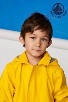 Petit Bateau Yellow Iconic Waxed Raincoat
