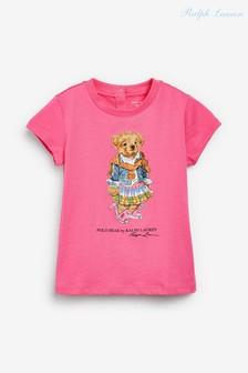 Ralph Lauren Pink Bear T-Shirt