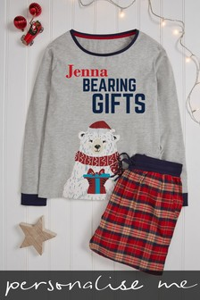 Personalised Womens Family Pyjamas
