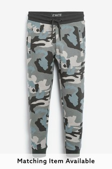 Camouflage Joggers Mineral Print (3-16yrs)