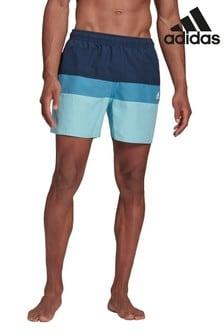 adidas Colourblock 3 Stack Swim Shorts