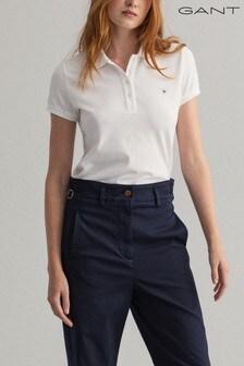 GANT White Original Polo Shirt