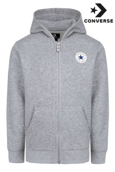 Converse Full Zip Younger Boys Hoodie
