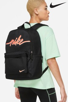 Nike Black Heritage Backpack