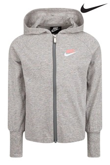 Nike Little Kids Zip Through Hoodie