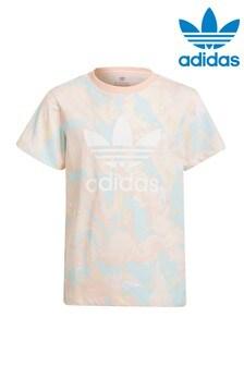 adidas Originals All Over Print Marble T-Shirt