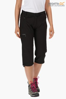 Regatta Black Xert Stretch Capris II