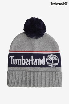 Timberland® Grey Knit Beanie Hat