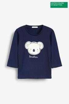 Benetton Character Long Sleeve T-Shirt