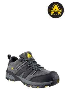 Amblers Safety Grey FS188N Lightweight Lace-Up Safety Trainers