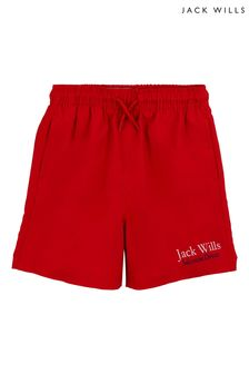 Jack Wills Boys Red Shorts