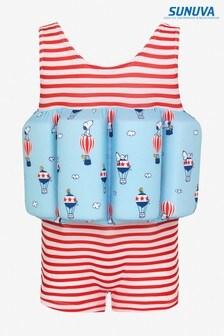 Sunuva Red Stripe Snoopy Floatsuit
