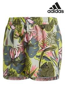 adidas Green Performance Tropical Shorts