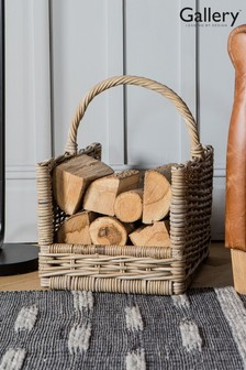 Dorado Log Basket by Gallery Direct