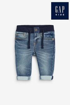 Gap Blue Slim Denim Shorts