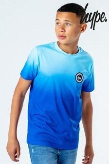 Hype. Kids Blue Fade T-Shirt