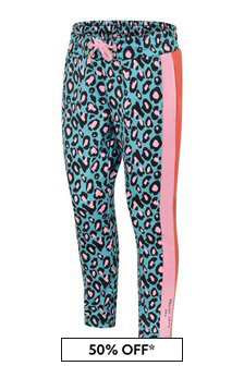 The Marc Jacobs Girls Cheetah Print Milano Pants