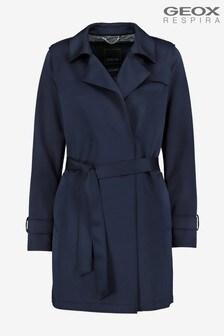 Geox Womens Roose Blue Jacket