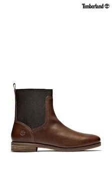 Timberland® Somers Falls Leather Chelsea Boots