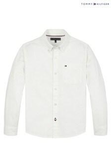Tommy Hilfiger White Essential Oxford Shirt