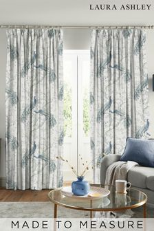 Laura Ashley Belvedere Midnight Made to Measure Curtains
