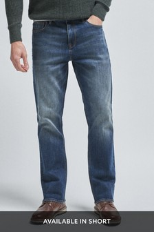 Dirty Denim Bootcut Fit Jeans With Stretch