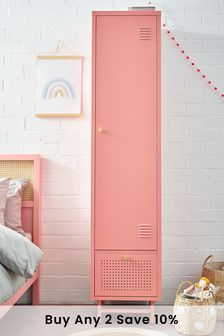Pink Locker Slim Wardrobe