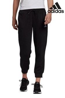 adidas Black Essentials Linear 7/8 Joggers